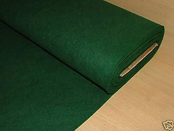 Attractive 1 Yrd Green Baize / Felt Craft Fabric Card Poker Table