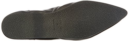 SELECTED FEMME Damen Sfalea Pointy Leather Slipper Schwarz (Black)