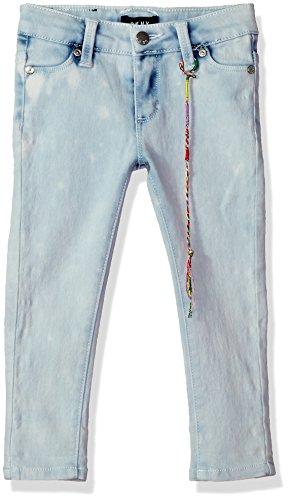 DKNY Girls' Toddler Jean, Lexington Super Skinny Cloud wash -