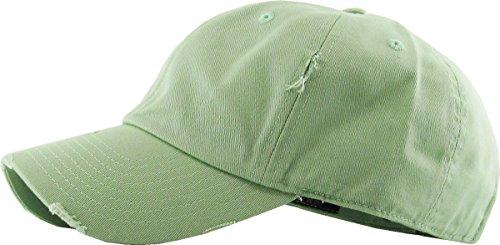 0ecb93097bc KBE-Vintage SGE Vintage Washed Cotton Dad Hat Baseball Cap Polo Style