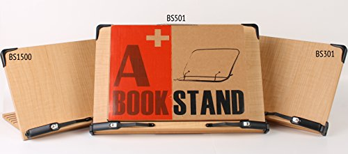 A+ Book Stand BS301 Deluxe Multipurpose Book Holder w/ Adjustable Detachable Tray-Page Paper Clips-Textbooks Cookbook Reading Desk Lightweight Sturdy Bookstand-Laptop Tablet Study Recipe Books Stands - medicalbooks.filipinodoctors.org