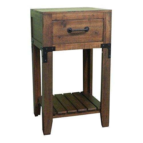 StealStreet SS-Edb-EN27162 15 inch Wooden Telephone Table by StealStreet
