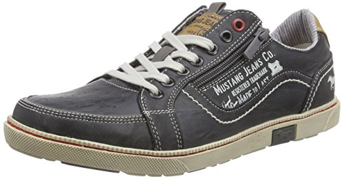 Gris 302 Mustang stein Basses Homme Baskets 200 4073 nCqfAqwB
