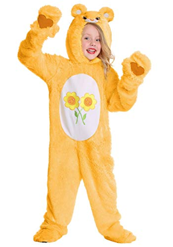Yellow Care Bear Costume (Care Bears Toddler Friend Bear Costume 2T)