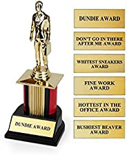 The Office Dundie Award Replica Trophy | Host Your Own The Office Dundies Awards Ceremony | Includes 6 Interch