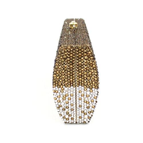Sac En De Soirée Diamant Diamant Haute En Qualité Main Luxe Onecolor à De De Sac qEACx0wq