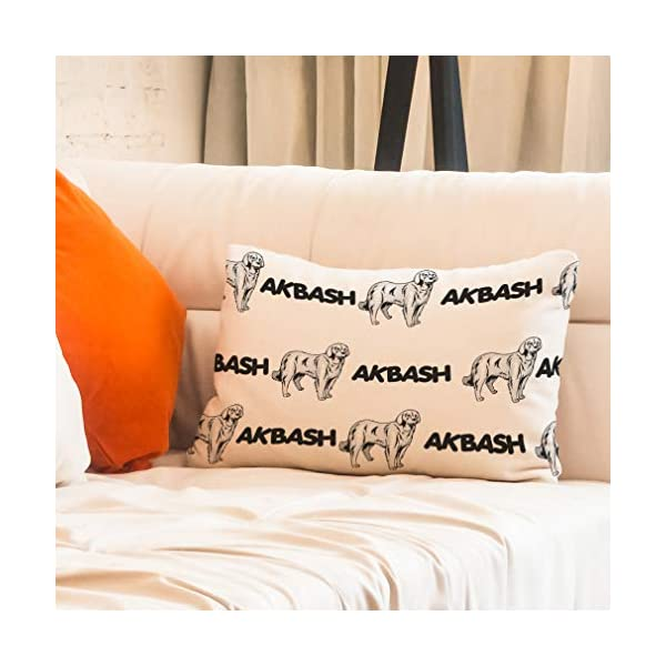 Personalized Pillow Case Akbash Dog Breed Style A Polyester Pillow Cover 20INx28IN Design Only Set of 2 7