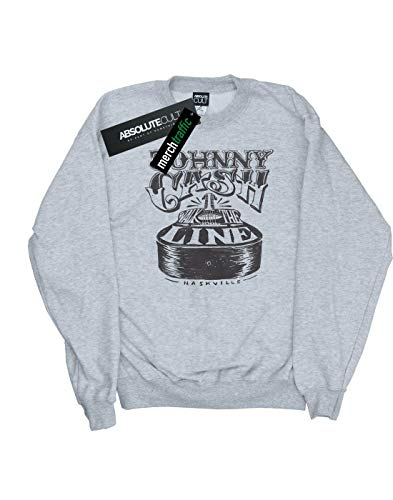 De Cash Johnny Entrenamiento Camisa Nashville Deporte Gris Cult Guitar Absolute Mujer E0544q