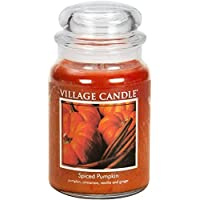 Spiced Pumpkin Large Apothecary Jar, Scented Candle, 21.25 oz.