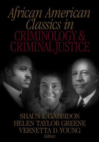 Books : African American Classics in Criminology and Criminal Justice by Shaun L. Gabbidon (2001-09-27)