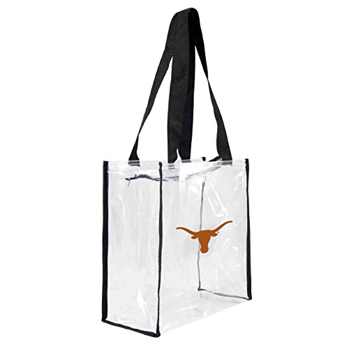 NCAA Texas Longhorns Clear Square Stadium (Texas Longhorns Large Tote)