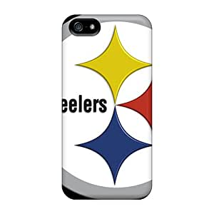 Perfect Hard Phone Cover For Apple Iphone 5/5s (DmP29362qoAr) Allow Personal Design HD Pittsburgh Steelers Image