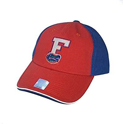 Florida Gators Adult Size Adjustable One Size Fits Most NCAA Authentic Orange & Blue Double Logo Hat Cap - OSFM by Top of the World