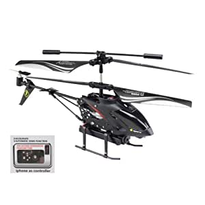 BESTIM WLtoys S215 3.5CH iPhone Android Control RC Helicopter with GYRO and Spy Camera