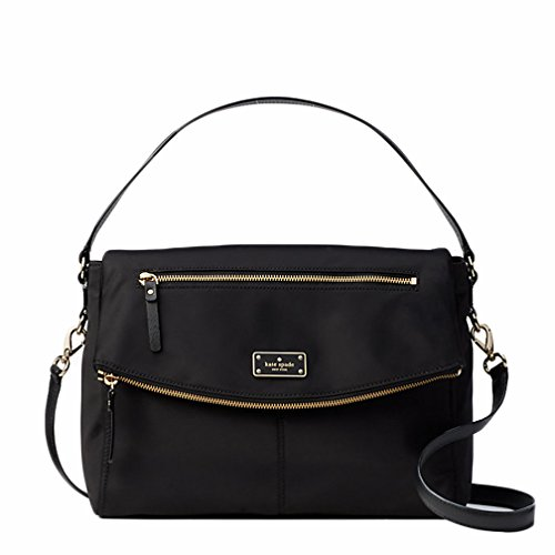 - Kate Spade New York Blake Avenue Lyndon Shoulder Bag Handbag Purse (Black)