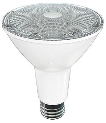 """SleekLighting LED Par 30 Long Neck,11 Watt,(75 Watt Equivalent) 800 Lumens,""""Dimmable"""" Wide Flood Light Bulb(40°), Indoor/Outdoor, Recessed Lighting, Spot Light,E26 Medium Base, UL"""