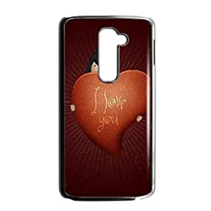 I Love You Valentines Day LG G2 Cell Phone Case Black Delicate gift JIS_242608