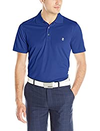Men's Performance Golf Grid Polo
