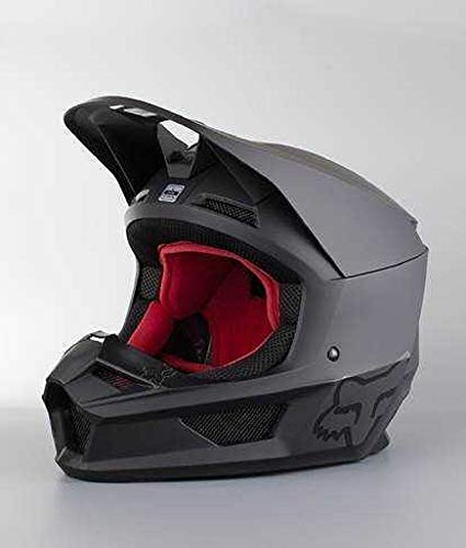 2019 Fox Racing V1 Matte Men's Off-Road Motorcycle Helmet - Matte Black/Large