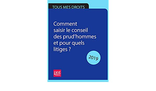 4803b846b17 Amazon.com  Comment saisir le conseil des prud hommes et pour quels litiges    2018 (French Edition) eBook  Brigitte VERT