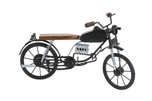 Deco 79 Metal Wood Dirt Bike Motorcycle, 15 by 9-Inch, Si...