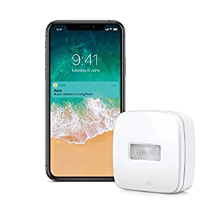 Eve Motion - Smart Wireless Motion Sensor with IPX 3 Water Resistance, get Notifications, Automatically Trigger Accessories and Scenes, no Bridge Necessary, Bluetooth (Apple HomeKit)
