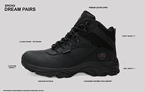 Boots DREAM Men's PAIRS Work Black Bronx Nortiv8 Waterproof 1qYzvSRqnw