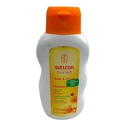 Weleda Calendula Baby Oil, 6.8 Ounce Baby Calendula Oil