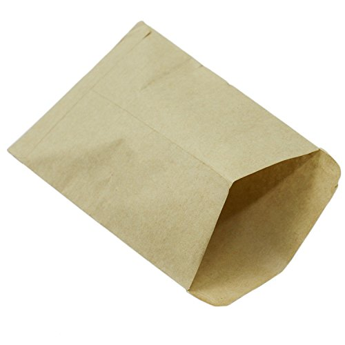 100 Pieces Empty Seed Packets Envelopes Mini Kraft Paper Bags,4.6