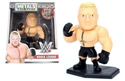 NEW 4'' JADA TOYS ACTION FIGURE COLLECTION - METALS WWE BROCK LESNAR M203 Action Figures By Jada Toys by Jada