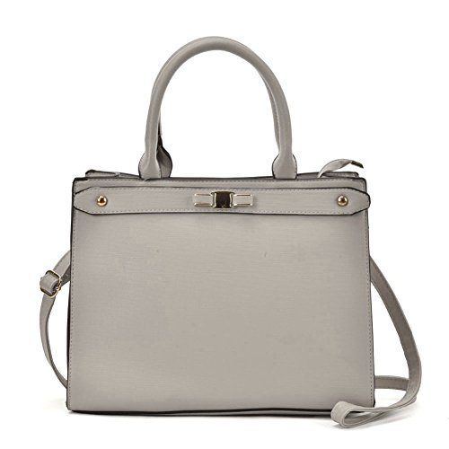 Tote Detachable ladies shoulder Fashion YOUNG women Grey Bag Boxy Strap With SALLY handbags U0aqSn