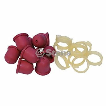 Stens 120-010 - Pack de 10 bombillas de repuesto para Briggs and ...
