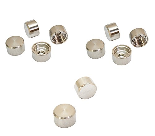 Stainless Steel Dome Cap (Stainless Steel T316 Cable Railing RH 1/4