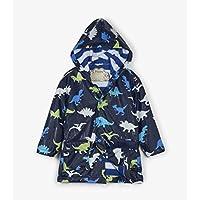 Hatley Kids Colour Changing Raincoat - Dino Herd