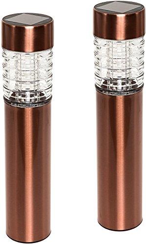 Copper Bollard Garden Lights