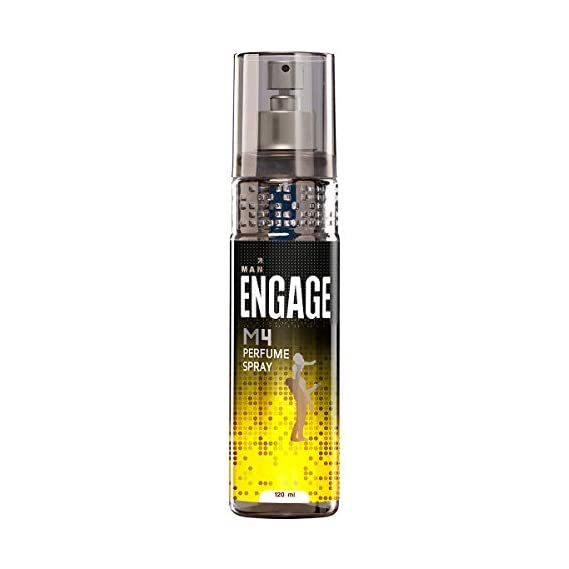 Engage M4 Perfume Spray For Men, 120ml