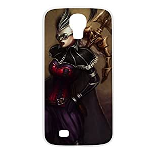 Vayne-002 League of Legends LoL For Case Samsung Galaxy S4 I9500 Cover Plastic White