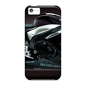 Tough Iphone RMe7539KEJG Cases Covers/ Cases For Iphone 5c(suzuki Dark Bike)