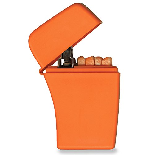 Zippo Emergency Fire Starter, Orange Plastic