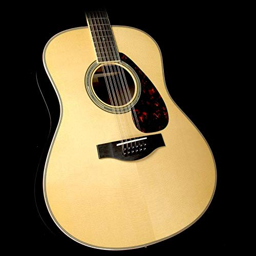 Yamaha L-Series LL16 12-String Acoustic-Electric Guitar with Gig Bag - Natural