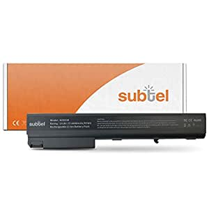 subtel® Batería premium (4400mAh) para HP Compaq 6720t 8510p 8510w 8710p 8710w nc8230 nc8430 nw8240 nw8440 nw9440 HSTNN-DB11 (14.8V)* bateria de repuesto, pila reemplazo, sustitución
