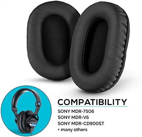 Brainwavz Almohadillas de piel sintética para Sony MDR  9Lxvg