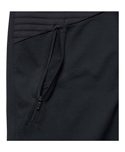 Under Armour Men's No Breaks ColdGear Infrared Run Jacket, Black/Black, Large Photo #3