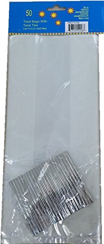 FREEDco-Treat-Bags-5-By-11-Inch-100-Pieces-Clear