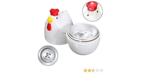 Compra TOOGOO 1 Olla de Vapor de Huevos hervidos en Forma de ...