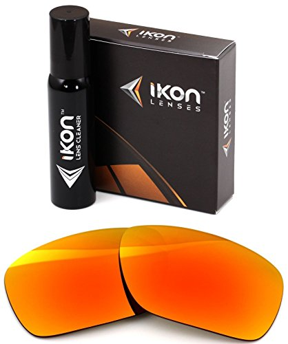 Polarized Ikon Iridium Replacement Lenses for Oakley Jawbone Sunglasses - Fire Orange - Jawbone Frame Oakley