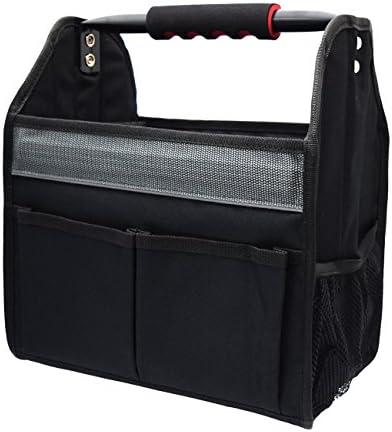 高儀 M&M BLACK STYLE ハンディパイプツールバッグ フルオープンタイプ