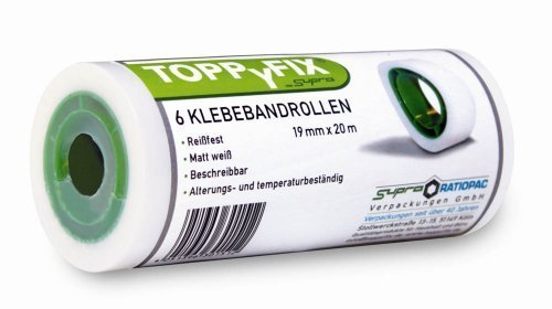 6x SUPRA Klebefilme TOPPYFIX