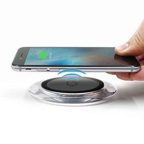 Iphone 6 And Iphone 6s Wireless Charging: BEZALEL IPhone 6 6S Wireless Charger Kit = Qi Wireless