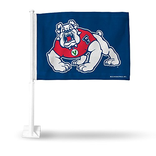 Rico Industries NCAA Fresno State Bulldogs Car Flag